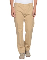Aquascutum London Aquascutum Trousers Casual Trousers Men Beige