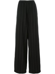 Societe Anonyme Striped 'Marlene' Trousers Black