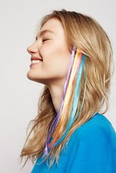 Free People Womens Rainbow Hair Extensions
