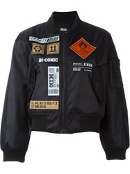 Ktz Patch Bomber Jacket Black