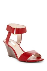 Louise Et Cie Phiona Wedge Sandal Multiple Widths Available Red