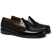 G.H. Bass Weejuns Larson Leather Penny Loafers Black