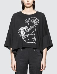 Undercover Girl Graphic Print T Shirt