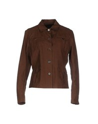 Ralph Lauren Suits And Jackets Blazers Women Dark Brown