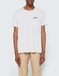 Quality Peoples Surf Af Crew Pocket T Shirt Khaki