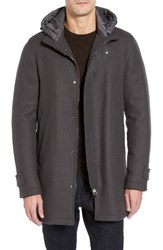Herno Men's Wool Hooded Parka