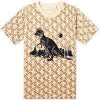 Coach Horse And Carriage Print Rexy Tee Brown