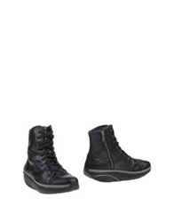 Mbt Ankle Boots Black