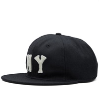 Ebbets Field Flannels New York Black Yankees 1936 Cap Black Wool