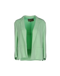 Space Style Concept Blazers Light Green
