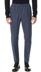 Carven Suit Trousers Bleu Chine