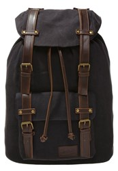 Pier One Rucksack Black Brown