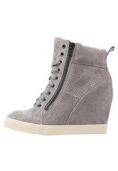 Pier One Hightop Trainers Mud Grey