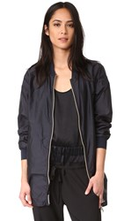 Add Down Unlined Bomber Deep Navy
