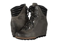 Sorel Conquest Wedge Quarry Women's Lace Up Boots Brown