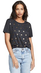South Parade Mini Stars Tee Smoke Black