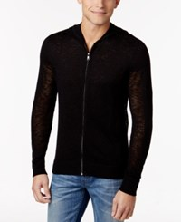 Inc International Concepts Men's Lightweight Hoodie Only At Macy's Deep Black