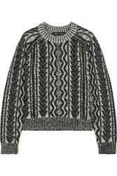 Proenza Schouler Cable Knit Cashmere Sweater