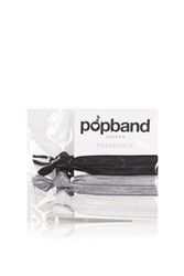 Topshop 3 Pack Popband Headband Black