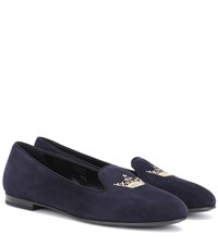 Church's Ingrid Suede Loafers Blue