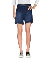 French Connection Denim Shorts Blue