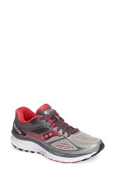 Saucony Women's Guide 10 Running Shoe Silver Berry