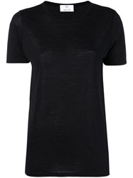 Allude Short Sleeved T Shirt Black