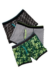 Bottoms Out Floral Camo Brief Pack Of 3 Multi
