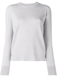 Adam By Adam Lippes Lightweight Knit Sweater Grey