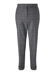 Jigsaw Prince Of Wales London Trouser Charcoal