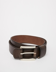 Esprit Wide Loop Leather Belt Brown