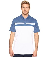 Travis Mathew Ko And Campa Polo White Men's Clothing