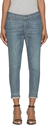 Rag And Bone Dash Trouser Drop Crotch Slouchy Skinny Pant