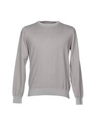 Gas Jeans Sweaters Light Grey