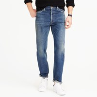 J.Crew Chimala Japanese Selvedge Jean In Narrow Fit
