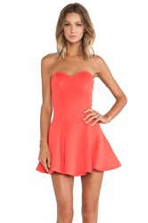 Lovers Friends Wisteria Fit And Flare Dress Orange