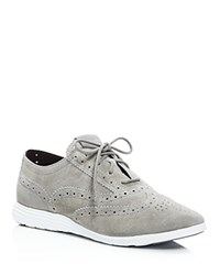 Cole Haan Grand Tour Lace Up Oxfords Gray