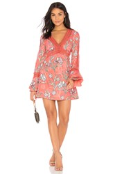 Finders Keepers Rotation Dress Red