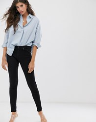 French Connection Re Bound Skinny Jean Black