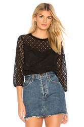 Heartloom Esme Top Black