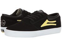Lakai Griffin X Krooked Black Yellow Suede Men's Shoes