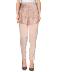 Gaetano Navarra Trousers Casual Trousers Women Beige