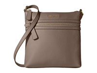 Cole Haan Dorset Flat Crossbody Dark Gull Grey Cross Body Handbags Gray