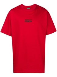Represent Logo Patch T Shirt Red