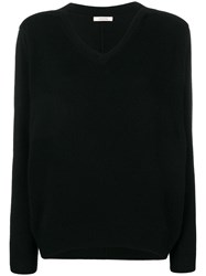 Dorothee Schumacher V Neck Jumper Black