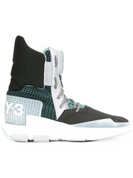 Y 3 Noci High Sneaker Boots Black