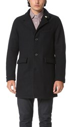 Gerald And Stewart By Fidelity Wool Tailored Coat Yankee Navy