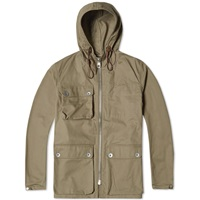 Nigel Cabourn X Lybro Zip Parka Washed Army