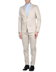 Paolo Pecora Suits Light Grey