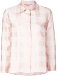 Brock Collection Checked Shirt Pink